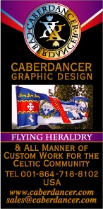 Caberdancer Flying Heraldy and Custon Design